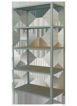 Estanteria metalica anaqueles metalicos estantes metalicos para oficinas comercios e - Estanterias metalicas para libros ...